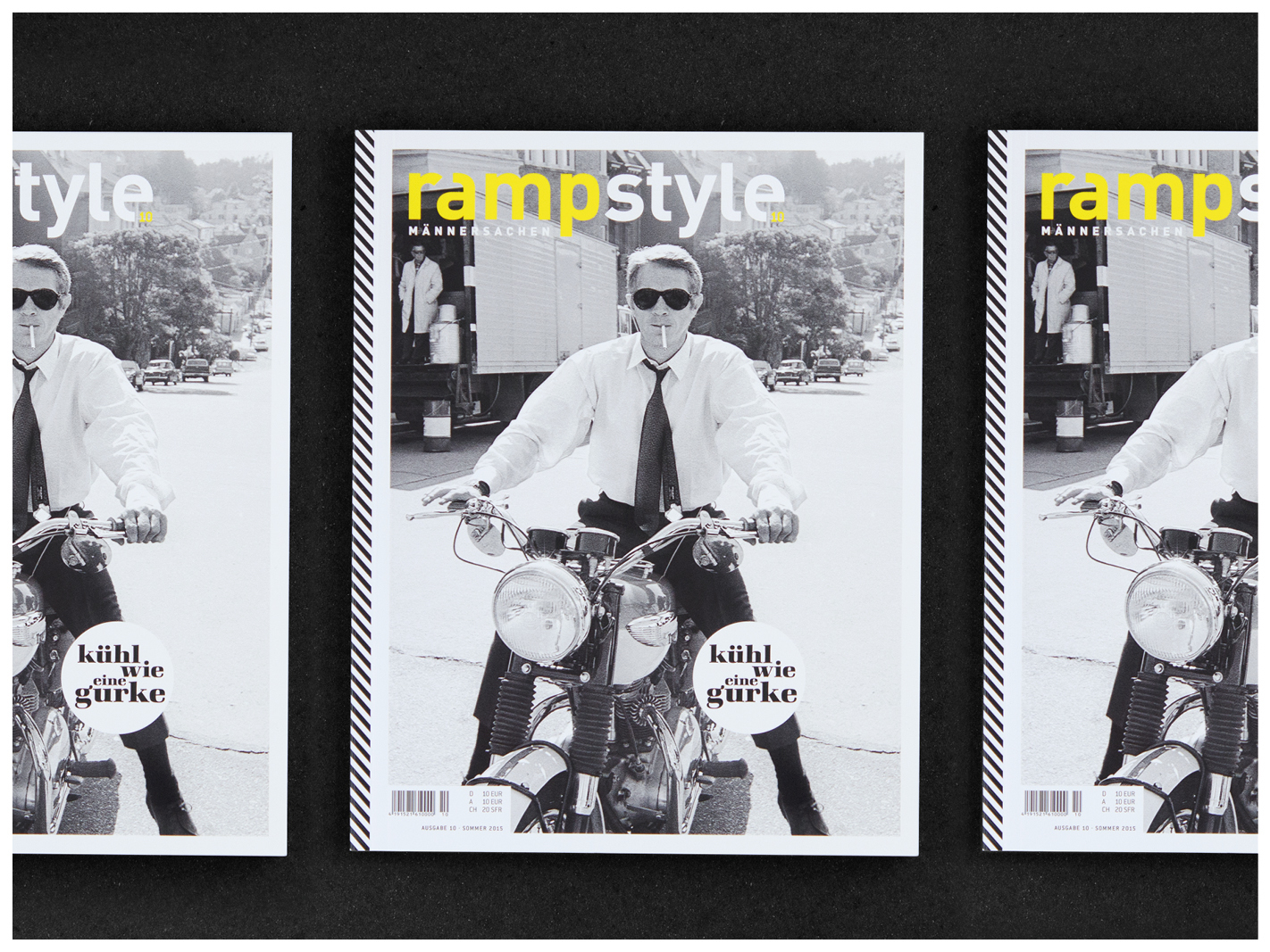 rampstyle Multiple Covers Steve McQueen